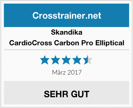 Skandika CardioCross Carbon Pro Elliptical Test