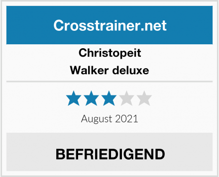 Christopeit Walker deluxe Test