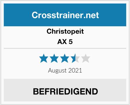 Christopeit AX 5 Test