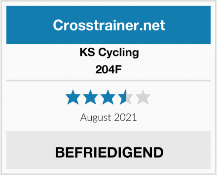 KS Cycling 204F Test