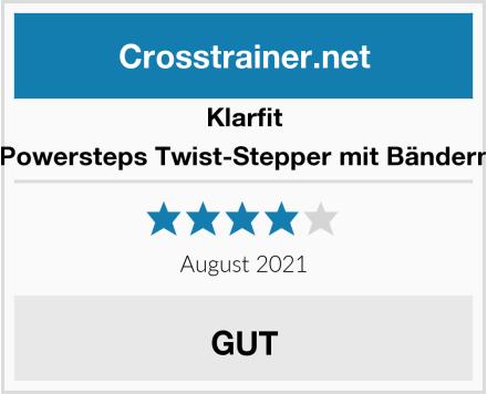 Klarfit Powersteps Twist-Stepper mit Bändern Test