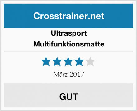 Ultrasport Multifunktionsmatte Test