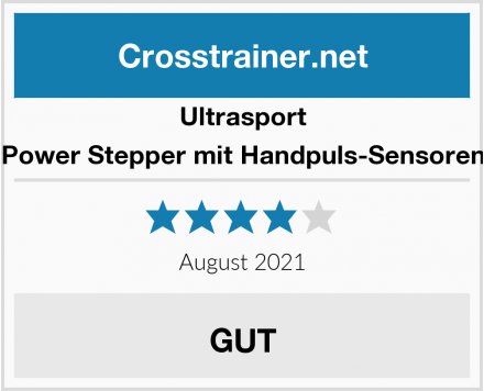 Ultrasport Power Stepper mit Handpuls-Sensoren Test