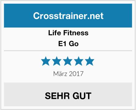 Life Fitness E1 Go Test