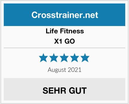 Life Fitness X1 GO Test