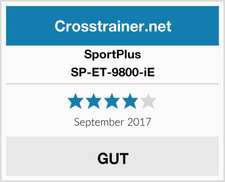 SportPlus SP-ET-9800-iE Test