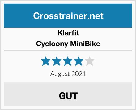 Klarfit Cycloony MiniBike Test