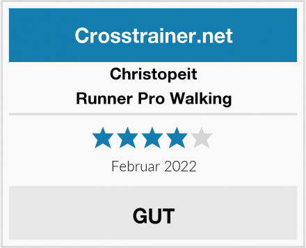 Christopeit Runner Pro Walking Test