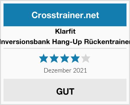 Klarfit Inversionsbank Hang-Up Rückentrainer Test