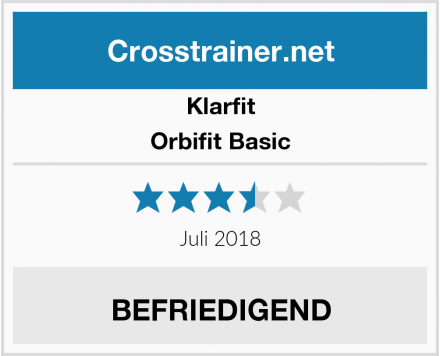 Klarfit Orbifit Basic Test