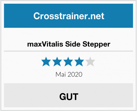 No Name maxVitalis Side Stepper Test