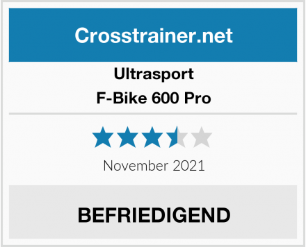 Ultrasport F-Bike 600 Pro Test