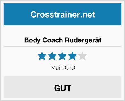Body Coach Rudergerät Test