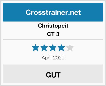 Christopeit CT 3 Test