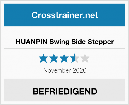 HUANPIN Swing Side Stepper Test