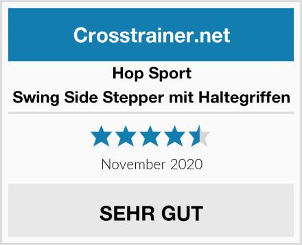 Hop-Sport Swing Side Stepper mit Haltegriffen Test