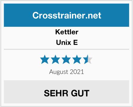 Kettler Unix E Test