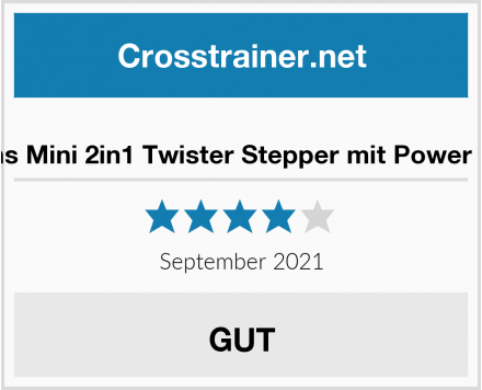 Ldoons Mini 2in1 Twister Stepper mit Power Ropes Test