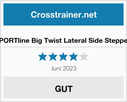 Triway inSPORTline Big Twist Lateral Side Stepper Ultra Pro Test