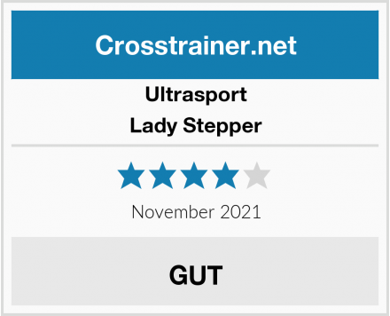 Ultrasport Lady Stepper Test