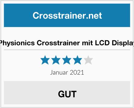 Physionics Crosstrainer mit LCD Display Test