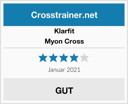 Klarfit Myon Cross Test