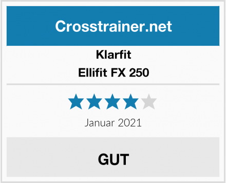 Klarfit Ellifit FX 250 Test