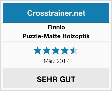 Finnlo Puzzle-Matte Holzoptik Test