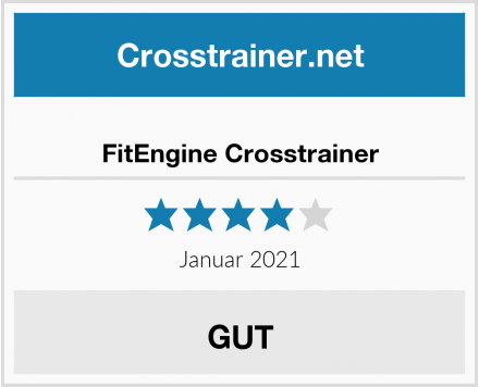 FitEngine Crosstrainer Test