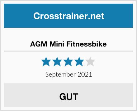 AGM Mini Fitnessbike Test
