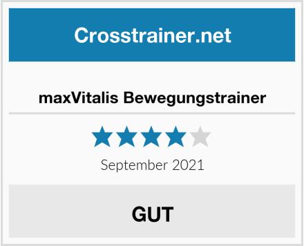 maxVitalis Bewegungstrainer Test