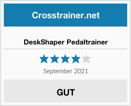 DeskShaper Pedaltrainer Test