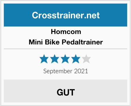 Homcom Mini Bike Pedaltrainer Test