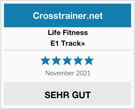Life Fitness E1 Track+ Test
