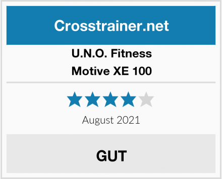 U.N.O. Fitness Motive XE 100 Test