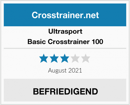 Ultrasport Basic Crosstrainer 100 Test