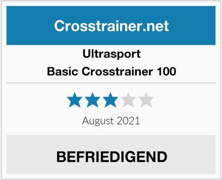 Ultrasport Basic Crosstrainer 100 Test