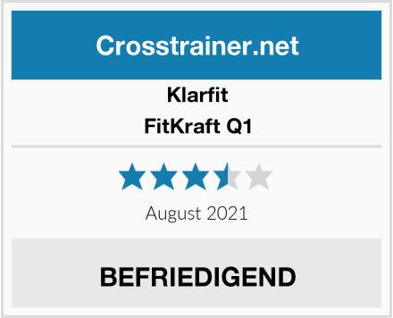 Klarfit FitKraft Q1 Test