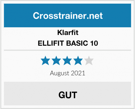 Klarfit ELLIFIT BASIC 10 Test