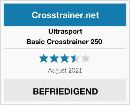Ultrasport Basic Crosstrainer 250  Test